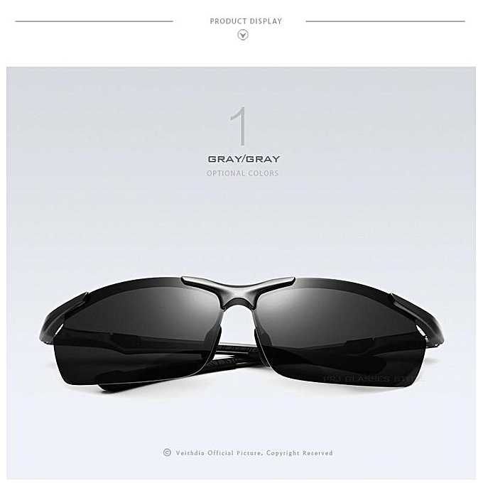 4f42a988020 ... VEITHDIA Men s Aluminum Magnesium SunGlasses HD Polarized Glasses Male  Eyewear Sunglasses For Men 6592 ...