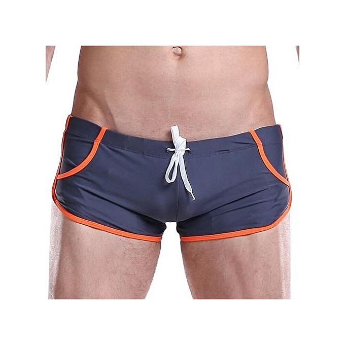 Lycra Zwembroek.Fashion Desmiit Mens Swim Wear Sexy Mens Swim Shorts Beach Bathing