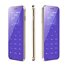 GEECOO MINI1 1.54'' 400mAh Dual SIM BT Calling BT Anti lost Fashion Touch Button Mini Card Phone