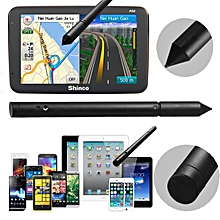 2PCS 2in1 Capacitive Touch Screen Pen Stylus For iPhone iPad Samsung PC Tablet GPS