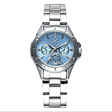 women fashion watches ladies quartz watch womens elegant dress stainless steel wristwatches girl clock relojes mujer