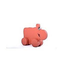 Animals on Wheels - Hippo - Pink