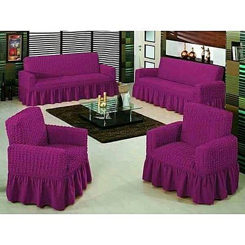 Sofa Seat Covers 3 2 1 Purple