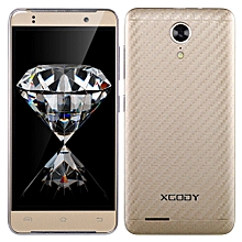"4.5"" un-locked 3G Android 5.1 Quad Core 2SIM 8GB Smart Mobile Phone GPS 5MP-gold"