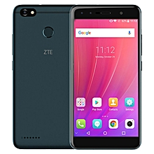 Blade A3 5.5-inch 2.5D (3GB, 32GB ROM) Android 7.0 Nougat, 4000mAh, 13MP + 5MP & 2MP, Dual Sim 4G LTE Smartphone - Dark Blue