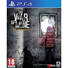 PS4 Game This War Of Mine The Little Ones