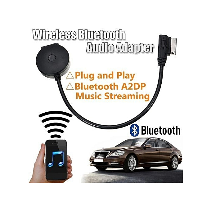 Interface Black Wireless Bluetooth Music Adapter For Mercedes-Benz MMI AUX  Cable