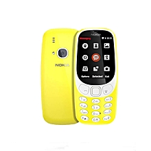 Nokia 3310 Dual Sim 2017 2.4 Inch 2MP Feature Phone – Yellow