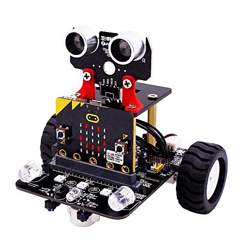 Micro:bit STEM Smart Programmable Educational Robot Car Kit With  Development Board -