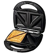 2 Slices Premium Sandwich Maker - Black