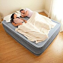 "Comfort Plush Mid Rise Dura-Beam Airbed with Built-in Electric Pump, Bed Height 13"", Full -4by6-"