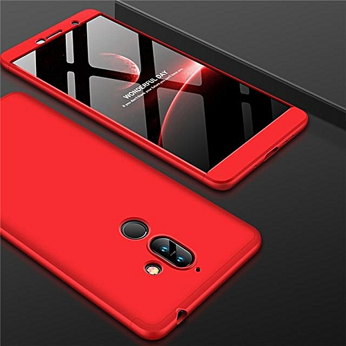 new products 06482 34ce9 360 Full Protection Case For Nokia 7 Plus Slim Hard PC Plastic Armor Back  Cover For Nokia 7 Plus Case Cover Phone Cases