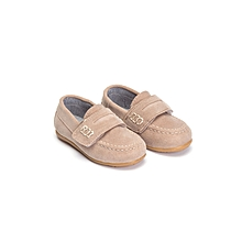 Boy Beige Shoes