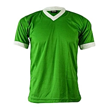 Jersey F/Ball Short-Sleeves F/Knit- P Green