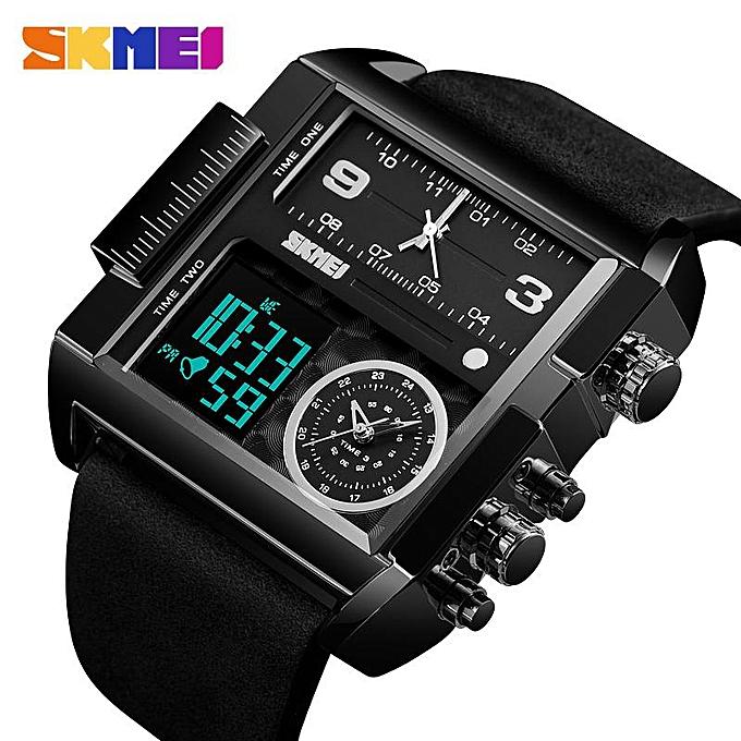 SKMEI Men Sports Watch Top Luxury Brand Military Wristwatch Men Quartz  Analog Digital Watches 1391