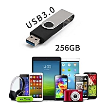 OR USB3.0 Flash Drive 256G Large Capacity USB Stick High Speed Pen Black