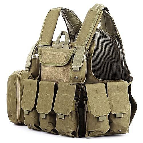 Generic Tactical Military Battle Combat Airsoft Molle Bullet Assault Plate  Carrier Vest-SOIL 946dd29d520