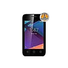 Neon Kicka - 4GB - 512MB RAM - 2MP Camera - Single SIM - Black + FREE COVER(RANDOM DESIGNS)
