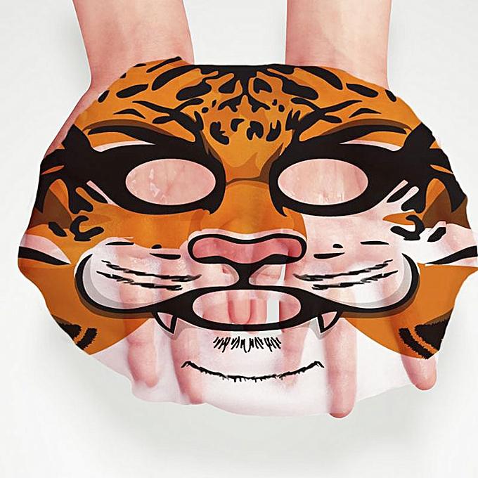 Animal Face Mask Deep Moisturizing Sheet Mask Oil Control Brighten Skin Mask For Woman Panda Tiger Bioaqua Korean Facial Masks Face