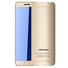 ULCOOL V26 Card Mobile Phone, 1.54 inch, MTK6261D, Support Touch Keys, Bluetooth, FM, Anti-lost, GSM, Dual SIM (Light Gold)