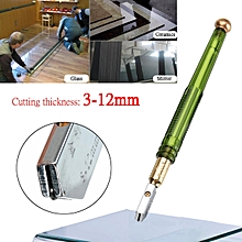 Professional Glass Cutter Cutting Lubricated Oil FeedTipped Craft Glazing Blade