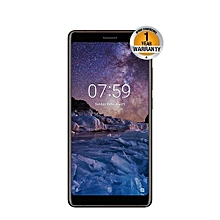 "Nokia 7 Plus, 6"" (64GB+4GB RAM) 12MP+13MP Dual Camera (Dual SIM) Black Copper"