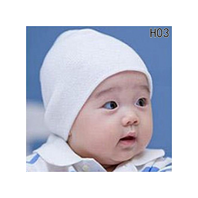 9b2ee340bd892 Shinewerop New Unisex Baby Cap Beanie Boy Girl Toddler Infant Children  Cotton Soft Cute Hat