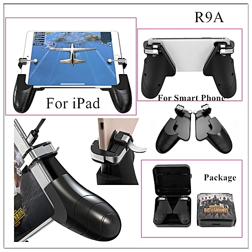 For PUBG FPS Mobile Game Controller Handle Gamepad Holder Joystick With  L1R1 Trigger Fire Shooter Button Aim Key For iPad FCSHOP