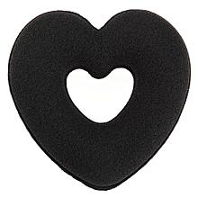 Women Hair Styling Heart Donut Bun Wraps Hair Ring Bud Clip Hair-Updo Maker