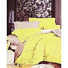 4PC - Duvet Cover Set – 3 x 6 – Green & Grey