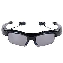 Headphones, Sport Riding Eyes Glasses Wireless Bluetooth 4.0 Stereo Headset Driving Call Music Handsfree Smart Sunglasses(Black)