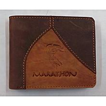 Buck Leather Wallet
