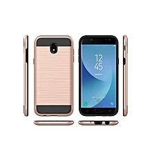 Samsung Phone Cover Durable Shockproof Universal Phone Case____SAMSUNG J3PRIME____rose gold