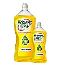 Dishwashing Liquid Zesty Lemon Buy 750ml, get 200ml Free