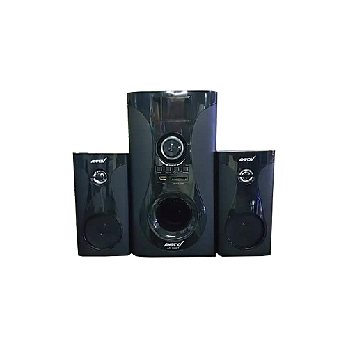 AX-308BT - 2.1 Channel Bluetooth Subwofer -  8800W – Black