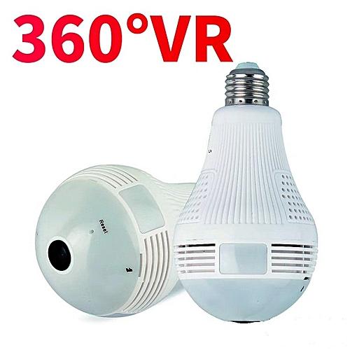 1080P Nanny CCTV 360 Bulb with Night Vision   + FREE 64Gb Mem