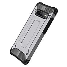 Galaxy S10+ Case,2 IN 1 Hybrid [Full Body] [Heavy Duty] Armor Case Dual Layer Shock Absorbing TPU for Samsung Galaxy S10+/Galaxy S10 Plus -Grey