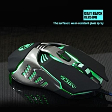 Gaming Mouse Custom Computer Mouse 3200CPI 7 Buttons Mouse Game Ergonomic USB Optical Wired Gaming Mouse For PC Laptop Black