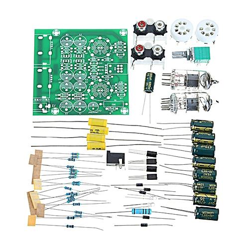 AC 12V 1A 6J1 Value Preamp Tube Preamp Amplifier Board PreAmplifier Module  Pre-Amp Headphone Preamp Bile Buffer DIY Kits Stereo Bass HIFI X10-D