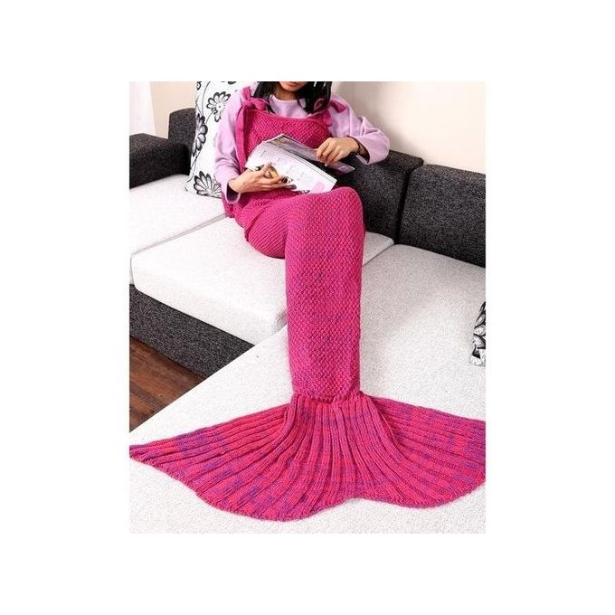 sunweb adult handmade knitted crochet wearable mermaid tail shape blanket sleeping sofa blanket. Black Bedroom Furniture Sets. Home Design Ideas
