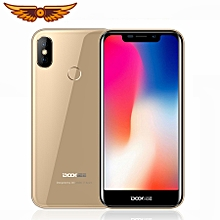 "X70 5.5"" 19:9 Android 8.1 Smartphone 4000mAh 3G WCDMA 2GB+16GB Fingerprint ID Mobile Phone - Gold"