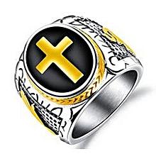 Stainless Steel Designer Punk Ring
