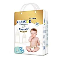 Platinum Diapers Size Large (9-14 Kg) - 60 Pcs