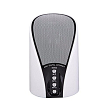 133 Stereo Bluetooth Wireless  Speakers With Radio - White