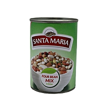 Four Bean Mix In Brine - 400g