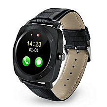 X3 - 1.33 inch TRENDY Smart Watch Phone SIM Camera - Black