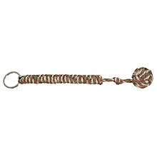 Pro Monkey Fist Self Defense Emergency Protection Paracord Steel Ball Keychain Camouflage