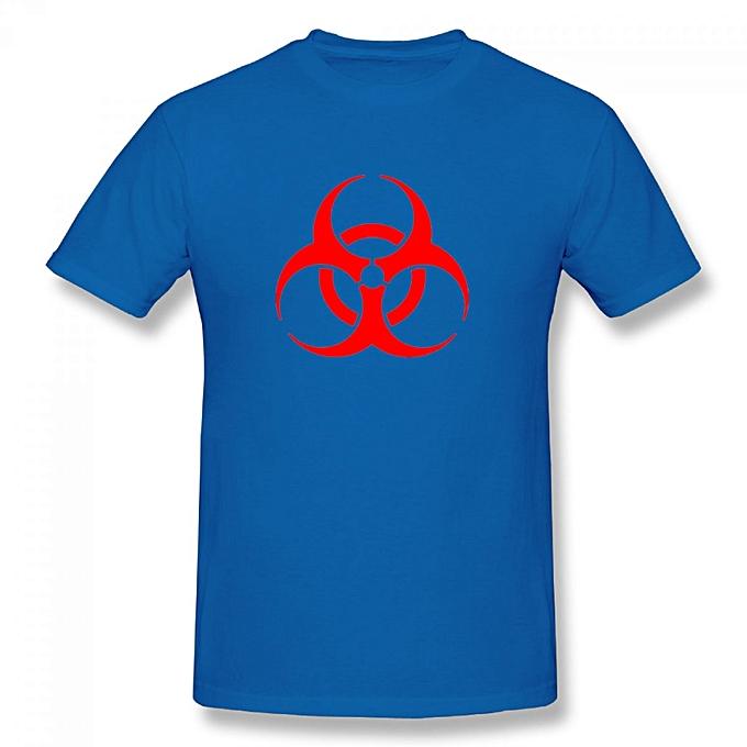 Buy Generic Residentevil Biohazard Symbol Mens Cotton Short Sleeve