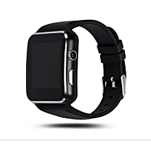 X6 Sleek Smartwatch Watch Phone For Android - Black