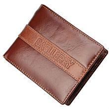 Baellerry Genuine Leather Men's Wallet - Brown